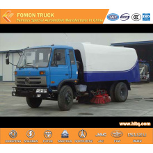 RHD Dongfeng 153 4x2 Truck Mounted Sweeper