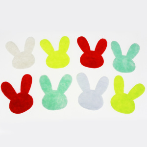 Felt bunny decoration assortment