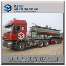 BPW 12 roues 35 Cbm Chemical Liquid Tanker Semi-remorque