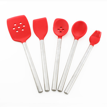 5PCS Nonstick Silikon Utensil Kitchen Tools Set