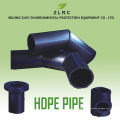 Tubo plástico del PE de la manguera de agua del jardín de Pekín ZLRC Carrete tubo del PE del precio del tubo de Hdpe