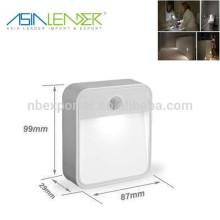Lumière de capteur de mouvement SMD de haute qualité led lumière de nuit