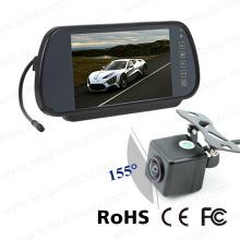 Système de moniteur miroir vision mobile 7 pouces avec caméra étanche