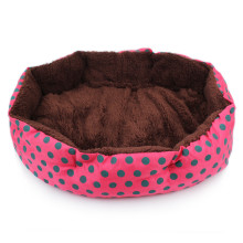 Octagon Shape Soft Fleece Pet Dog Cat Cama