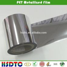 Película metalizada colorida del ANIMAL DOMÉSTICO / película metalizada / película metalizada del poliester para empaquetar e imprimir