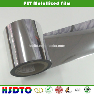 Bunte Metallisierte PET Folie / Metallisierte Folie / Metallic Polyester Folie für Verpackung und Druck