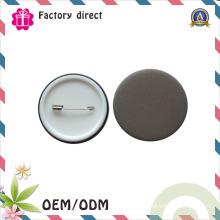 Chine Insigne professionnel de bouton de ferblanterie de logo en métal adapté aux besoins du client