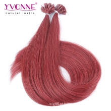 Extensões retas do cabelo humano da ponta do # 37 da cor # 37