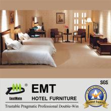 Современная мебель для гостиниц с двумя кроватями (EMT-B0901)