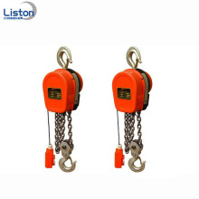Portable 1 Ton DHS Type Hoist Rantaian Elektrik
