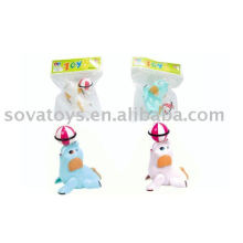 Animais brinquedos elefante enrolar brinquedo