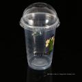 Copos de PP de alimentos e bebidas de plástico descartáveis eco friendly impresso com um logotipo
