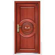 Puerta interior blindada de madera de acero del estilo de Turquía