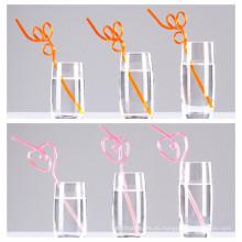 Pajitas de cristal con estilo