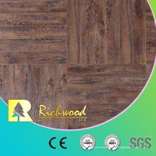 Plancher stratifié en bois stratifié par chêne blanc de chêne de 12.3mm E0 AC4