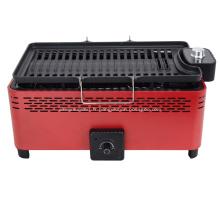 BBQ électrique et barbecue au charbon 2 en 1