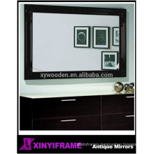 Home Decor Handcraft Wooden Carved Rectangle Mirror Wall Mirror