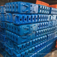 Factory Direct standard Blow mold Plastic Concrete Filled Base