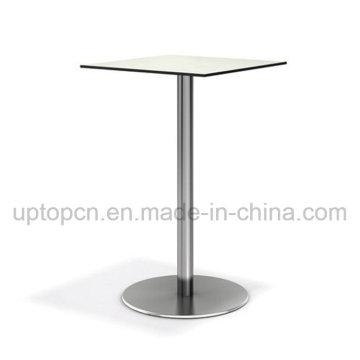Квадратный высокий барный стол мебель с композитной доски столешницы (СП-BT671)