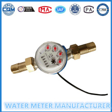 5 Digits Counters Singe Jet Water Meter with Pulse Output