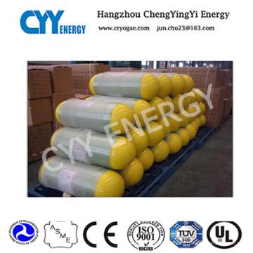 Cylindre en acier sans couture CNG-1 pour des véhicules
