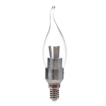 3W Светодиодная лампа F37 с CE RoHS (GN-HP-CW3W-G35-E14-TA)