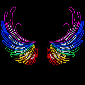 FLYING WINGS NEON SIGN