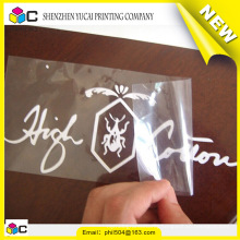 Latest new model decoration custom paper sticker