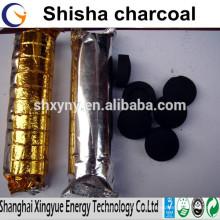 Carvão de narguilé de excelente qualidade, fábrica de carvão de shisha