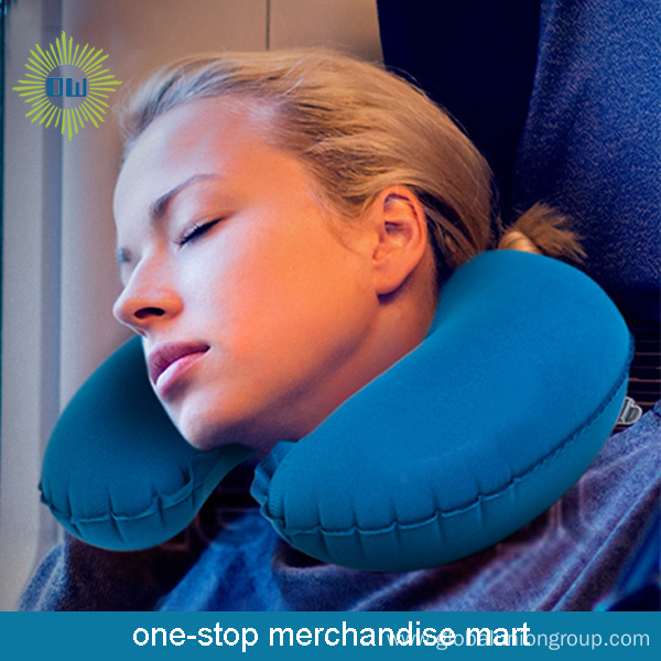 2015 Personalized Inflatable Travel Neck Protection Pillow