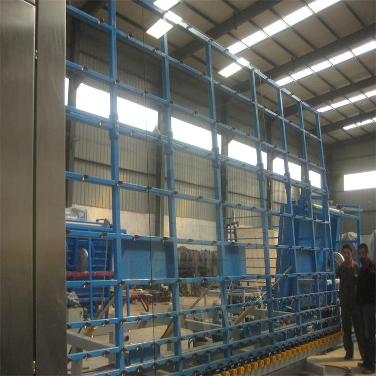 tilting table of glass washer