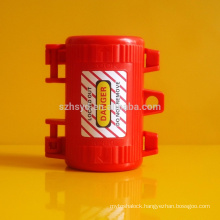 engineering polypropylene anti impact electrical plug locking device