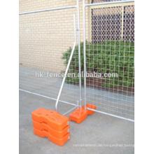 Abnehmbare tragbare Zaunplatte der hohen Qualität
