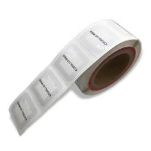RFID HF Library Buchaufkleber / Etikett / Etikett mit selbstklebender Rückseite