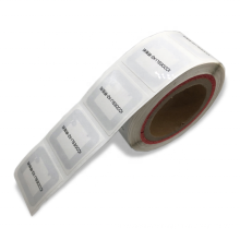 RFID HF Library Book Sticker/Tag/Label with Adhesive Back