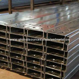 Hot dipped galvanized c section workshop purline