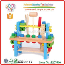 Tool Shelf Wooden Toys