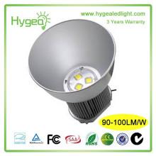 Las luces industriales al aire libre 150w del alto rendimiento llevaron la alta luz de la bahía, lámpara llevada de la bahía alta, luz llevada bahía grande