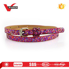 2015 Kids summer fun shiny skinny belts