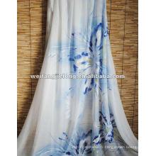 tissu 100% polyester imprimé pour quilt