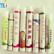 Tubos de pasta de dentes Composto de tubos laminados Tubo de compostos de plástico de alumínio