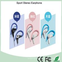 Auriculares estéreo multicolores del auricular del deporte del teléfono móvil de 3.5mm (K-968)