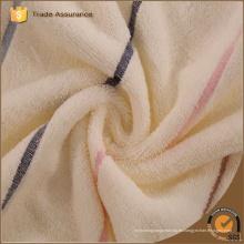 China Venta al por mayor de microfibra de felpa impresas toallas raya