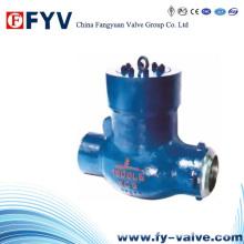 Válvula de retención giratoria para alta presión de la central eléctrica