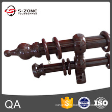 Wooden length 5m curtain rod
