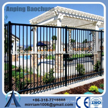 Baochuan fabulous new fashionable steel fence/wrought iron/aluminum fence