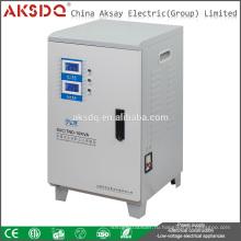 AKSDQ Оптовый SVC 10000VA Однофазный автоматический стабилизатор стабилизатора домашнего напряжения Wenzhou Yueqing Factory
