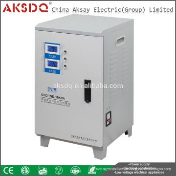 AKSDQ Großhandel SVC 10000VA einphasigen automatischen Hausspannungsstabilisator Regler Wenzhou Yueqing Fabrik