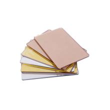 Wholesale in bulk mirrored rose gold acrylic sheet