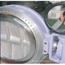 Válvula Borboleta Elétrica Assento De Metal